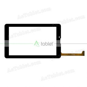 XLD765-V0 Digitizer Glass Touch Screen Replacement for 7 Inch MID Tablet PC