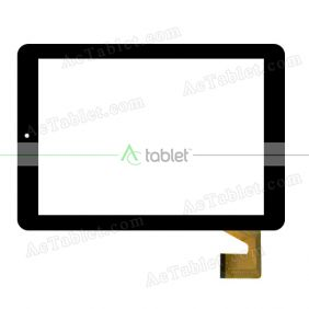 080B00-F00 Digitizer Glass Touch Screen Replacement for 8 Inch MID Tablet PC
