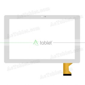 Digitizer Glass Touch Screen Replacement for Insignia Flex NS-P10A6100 Quad Core 10.1 Inch Tablet PC