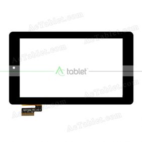 Digitizer Touch Screen Replacement for Insignia Flex 7 NS-15AT07 RK3168 Dual Core 7 Inch Tablet PC