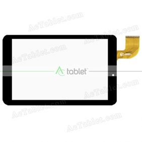 Digitizer Touch Screen Replacement for Logicom L-ixir TAB 840 Quad Core 8 Inch Tablette PC