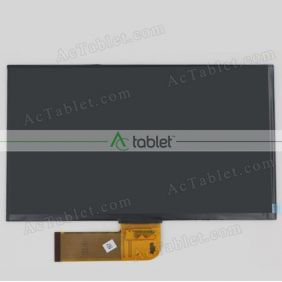 Replacement WS101R5004-FPC-V2 LCD Screen for 10.1 Inch Tablet PC