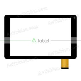 Digitizer Touch Screen Replacement for Azpen G1058H Quad Core 10.1 Inch Tablet PC