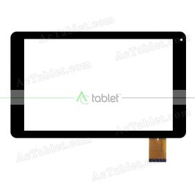 SQ-PGA1164B01-FPC-A1 Digitizer Glass Touch Screen Replacement for 10.1 Inch MID Tablet PC