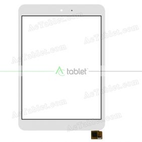 Digitizer Touch Screen Replacement for Insignia Flex Elite NS-P16AT785HD 7.85 Inch Tablet PC
