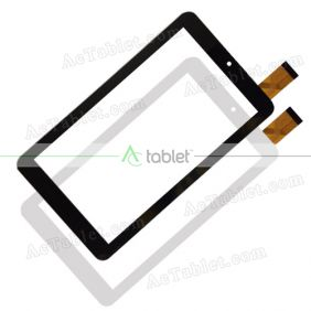 Digitizer Touch Screen Replacement for PendoPad PNDPPW81Q716BLK Quad Core 7 Inch Tablet PC