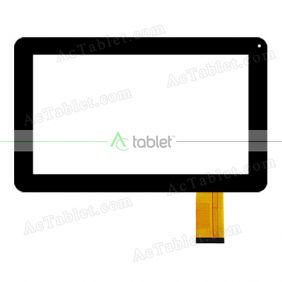 Digitizer Touch Screen Replacement for Digital2 Deluxe II D2-962G Dual Core 9 Inch Tablet PC