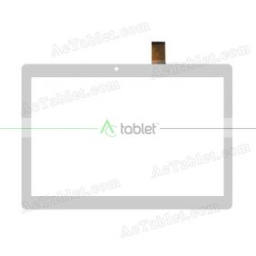 Digitizer Touch Screen Replacement for Ployer MOMO10 PLUS Quad Core 10.1 Inch Tablet PC