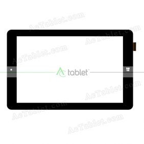 Digitizer Touch Screen Replacement for Ployer MOMO9W Z3735F Quad Core 8.9 Inch Windows Tablet PC