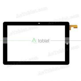 MF-839-101F Z Digitizer Glass Touch Screen Replacement for 10.1 Inch MID Tablet PC