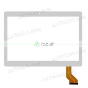 Touch Screen Replacement for Newpad Newsmy F18 MTK6753 Octa Core 10.1 Inch Tablet PC