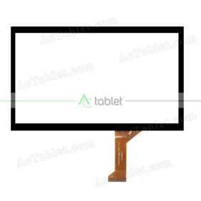 VTCP101A69-FPC-1.0 Digitizer Glass Touch Screen Replacement for 10.1 Inch MID Tablet PC