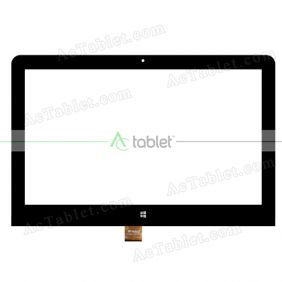Touch Screen Replacement for Voyo WinPad A1 Plus X5 Z8300 Quad Core 11.6 Inch Windows Tablet PC