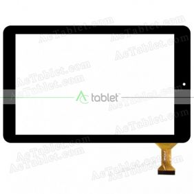 Digitizer Touch Screen Replacement for RCA RCT6603W87 Quad Core 10.1 Inch Tablet PC