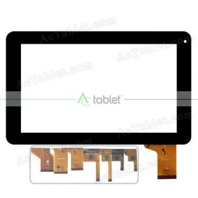 Replacement Touch Screen for Polaroid P901 Quad Core 9 Inch Tablet PC