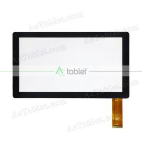 Digitizer Touch Screen Replacement for iRULU X37 Quad Core 7 Inch Tablet PC