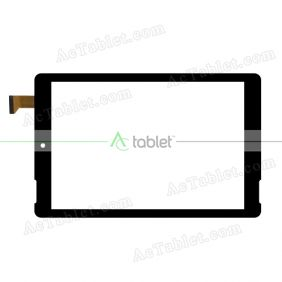 YJ433FPC-VO Digitizer Glass Touch Screen Replacement for 8 Inch MID Tablet PC