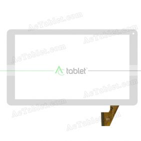 Digitizer Touch Screen Replacement for Wolder miTab Colors 10.1 Inch MT8163 Quad Core Tablet PC