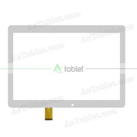 SQ-PGA1215B01-FPC-A0 Digitizer Glass Touch Screen Replacement for 10.1 Inch MID Tablet PC