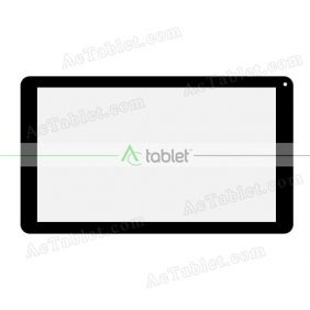 Replacement Touch Screen for Polaroid Q10 Q10BK Quad Core 10.1 Inch Tablet PC