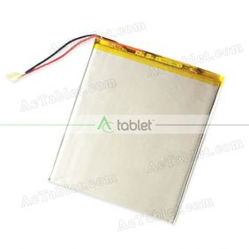Replacement Battery for Xido Z120 3G 10.1 Zoll Inch Quad Core  Tablet PC