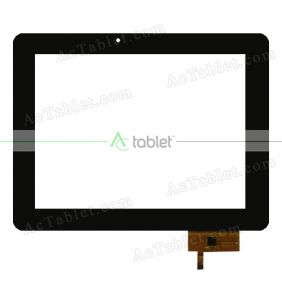 Touch Screen Replacement for iBerry Auxus Core X4 3G Quad Core 9.7 Inch Tablet PC