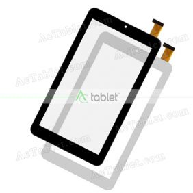Digitizer Touch Screen Replacement for e-Star MID7308P Beauty HD Quad Core 7 Inch Purple Tablet PC