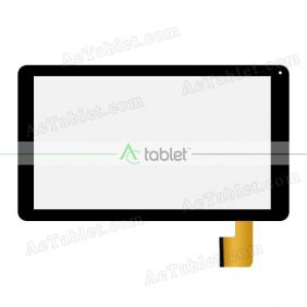 Replacement Touch Screen for PendoPad PNDP51M10BLK 10.1 Inch Quad Core Tablet PC