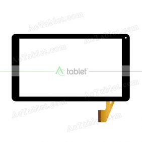 Digitizer Touch Screen Replacement for Neos Flek 10 NEOT60M10BLK Quad Core 10.1 Inch Tablet PC