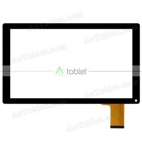 Replacement Touch Screen for Envizen Digital V1043Q Quad Core 10.1 Inch Tablet PC