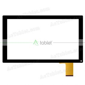 Replacement Digititzer Touch Screen for Blaupunkt Endeavour 1001 10.1 Inch Tablet PC