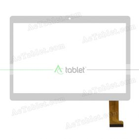 CH-1069A4-PG-FPC264-V1.0 Digitizer Glass Touch Screen Replacement for 9.6 Inch MID Tablet PC