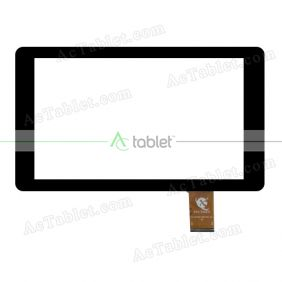XC-PG0900-062-FPC-A0 Digitizer Glass Touch Screen Replacement for 9 Inch MID Tablet PC
