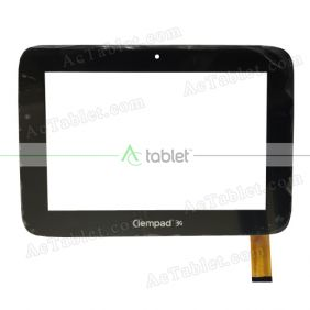 XLD882-V2 Digitizer Glass Touch Screen Replacement for 8 Inch MID Tablet PC