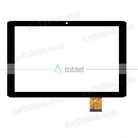 PB101GGJ3343 Digitizer Glass Touch Screen Replacement for 10.1 Inch MID Tablet PC
