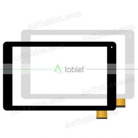Digitizer Touch Screen Replacement for Argos Alba 10 AC101CPLV3 10.1 Inch Tablet PC