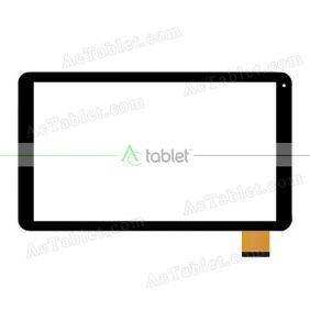 HN 1098-FPC-V1 T26*R14 SLR Digitizer Glass Touch Screen Replacement for 10.1 Inch MID Tablet PC