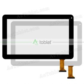 Digitizer Touch Screen Replacement  for Thomson TEO10B16 TEO10-16B A33 Quad Core 10.1 Inch Tablet PC