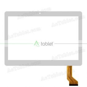 SDX100-005 Digitizer Glass Touch Screen Replacement for 10.1 Inch MID Tablet PC