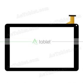 Digitizer Touch Screen Replacement  for MP Man MPQC30i Quad Core 10.1 Inch Tablet PC