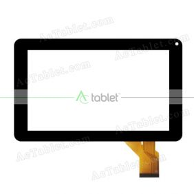 Replacement Touch Screen for Craig CMP773 - BUN Quad Core 9 Inch Tablet PC