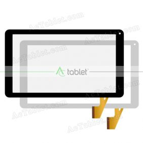 Digitizer Touch Screen Replacement for ProTab PTBT60M10BLK Quad Core 10.1 Inch Tablet PC
