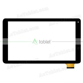 Replacement Touch Screen for MP Man MPQC1030 Quad Core 10.1 Inch Tablet PC