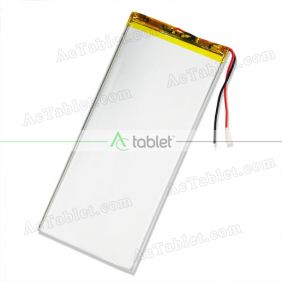 Universal Replacement 4000mAh Li-Battery for 10.1 Inch Android Tablet PC 3.7V