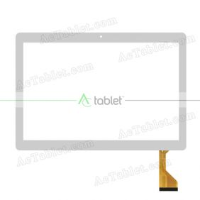CH-10114A2-FPC325 Digitizer Glass Touch Screen Replacement for 10.1 Inch MID Tablet PC