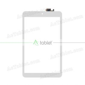 F-WGJ80156-V2 Digitizer Glass Touch Screen Replacement for 8 Inch MID Tablet PC