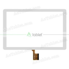 H 92-V1 T26xR14 Digitizer Glass Touch Screen Replacement for 10.1 Inch MID Tablet PC
