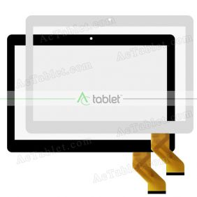 GT10PG127 Digitizer Glass Touch Screen Replacement for 10.1 Inch MID Tablet PC