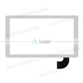 Digitizer Touch Screen Replacement for Naxa Nid-1001 MTK8127 Quad Core 10.1 Inch Core Pro Tablet PC