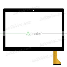 Digitizer Touch Screen Replacement for Overmax Qualcore 1027 4G MT6580 10.1 Inch Tablet PC
